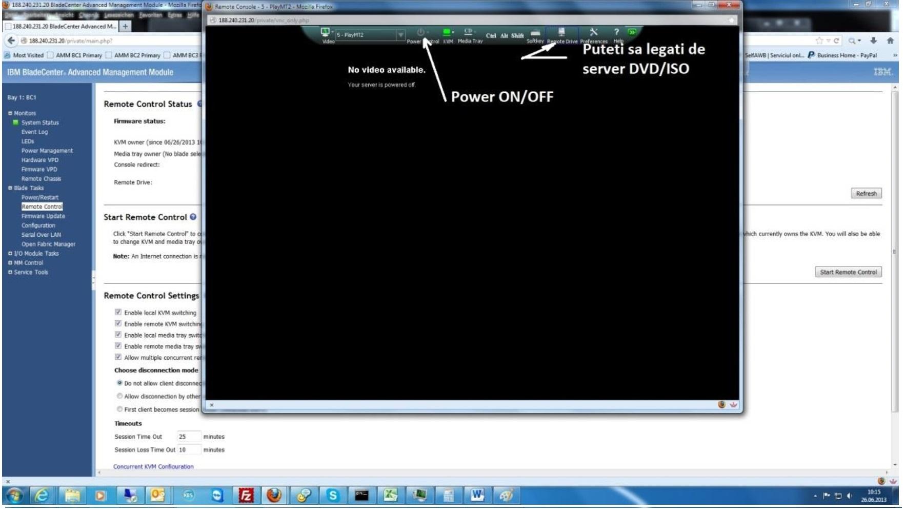 acces dedicat server pasul 6