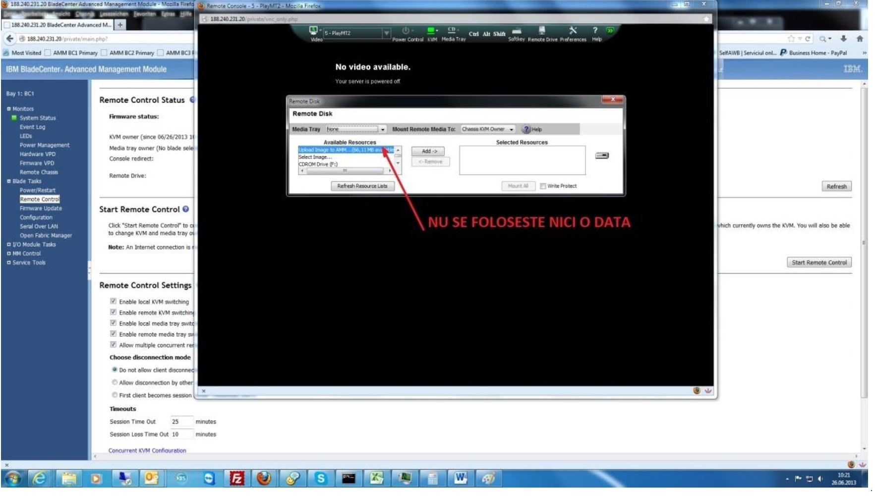 acces dedicat server pasul 7
